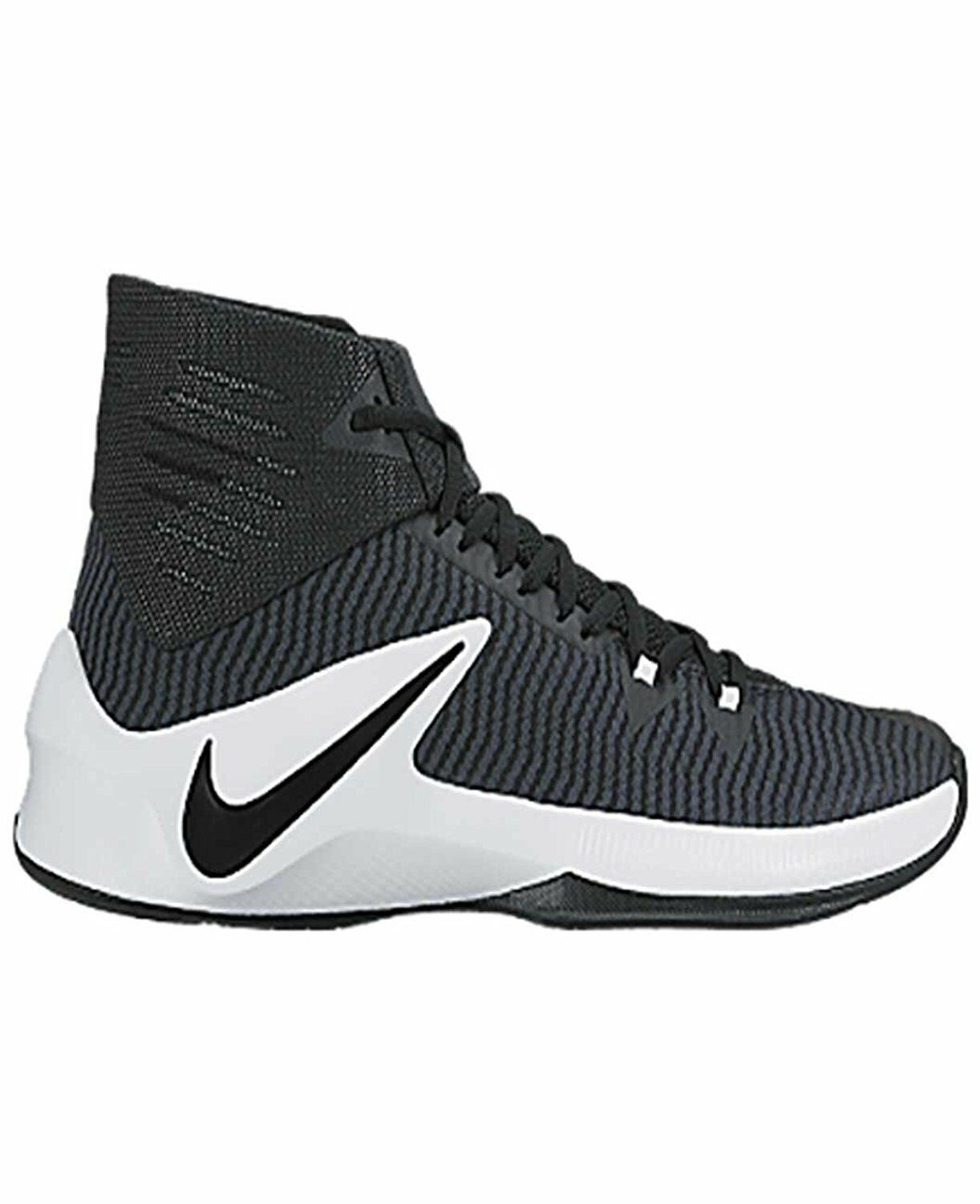 Nike Men's Zoom Clear Out TB Shoes Black/White,Royal/White,Team Red/White,Light Blue/White,Team Orange/White,Purple/White,Scarlet/White,White/Black