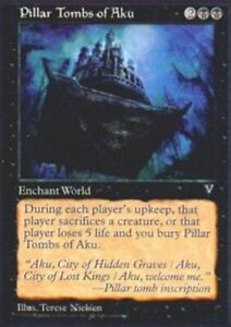 Light Play English 1x MTG Visions Griffin Canyon