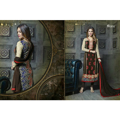 Indian Designer nice esha Semi Stitches Straight Cut Salwar Suit 315
