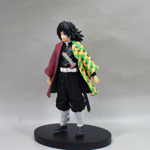 "Anime Demon Slayer Kimetsu no Yaiba Tomioka Giyuu Figure 6"" Toy New in Box"