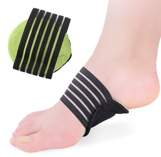 aeeb5746ea Unisex Foot Heel Pain Relief Plantar Fasciitis Insole Pads & Arch Support  Insert
