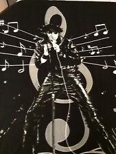 Elvis Presley Music Notes Rock n Roll The King fleece blanket  throw