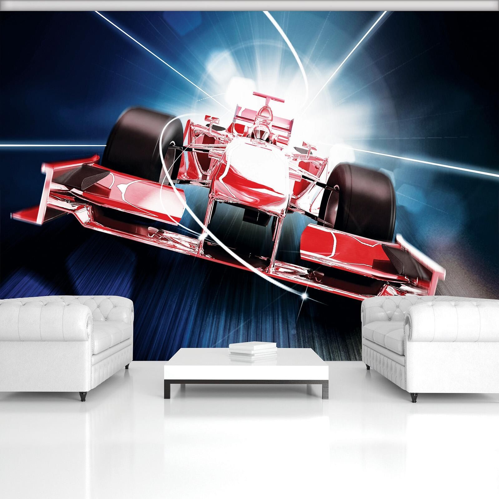 Photo Wallpaper Mural Non-woven 20241_VEN ROT Formula 1 3D F1 Formula 1 Race Bol