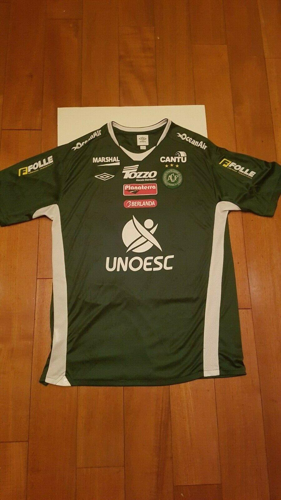 Chapecoense FC Oficial Jersey - 2010-Firmado por Equipo  Talla XL