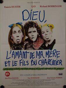 Affiche-Cinema-DIEU-L-039-AMANT-DE-MA-MERE-ET-FILS-DU-CHARCUTIER-1995-60x80
