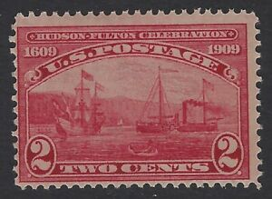 US Stamps - Scott # 372 - 2c Hudson Fulton Issue - Mint Never Hinged     (Q-219)