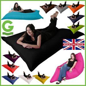 XXL-Floor-Cushion-GIANT-Beanbag-GARDEN-Lounger-Bean-Bag-Bed-INDOOR-OUTDOOR-Gilda