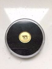2007 $5 Lunar Series I Year of the PIG 1/20oz. Gold 999 rare