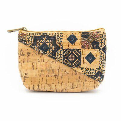 Liège Porte-monnaie avec fleur mosaïque feuilles à motifs sacs fait main Eco Sac 277 K