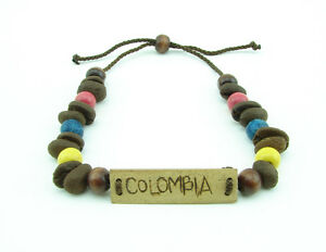 Image Is Loading Colombian Coffee Bean Bracelet Handmade Colombia Beans