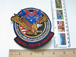 Ausdauernd American Motorradfahrer Association Motorrad Aufnäher 1335 Nachfrage üBer Dem Angebot