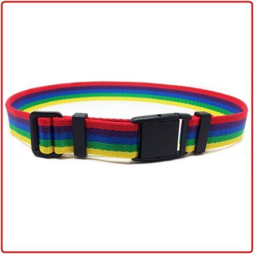 NEW Kids Webbing Trouser Belt 1-14yrs 50-75cm ADJ Colorful Child Toddler Boys UK