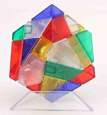 Ninja Ghost 3x3 Magic Cube Skewb Twist Puzzle Fancy Toys gif Transparent Rainbow