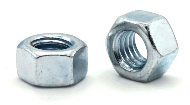 M2,3,4,5,6,8,10,12,14,16,20,24,30mm Hex Nuts High Tensile 8 Black Oxide DIN934