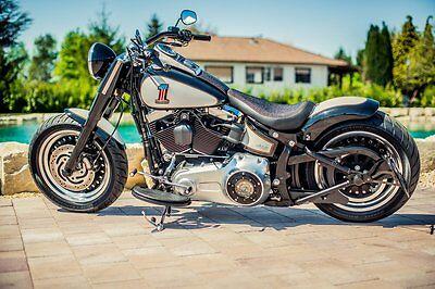 Harley Davidson Softail SLIM Softail Derbycover Kupplungsdeckel  BSB Customs