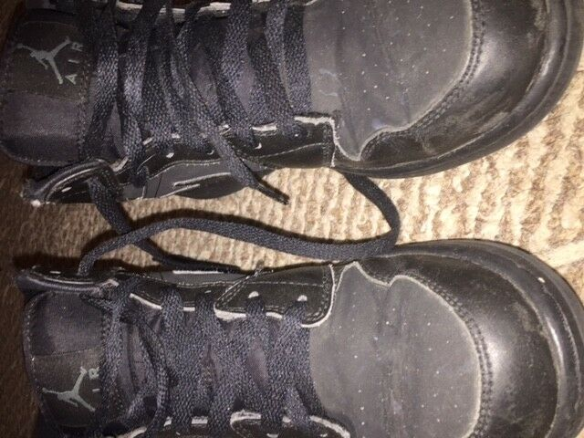 black air jordans size 7y Price reduction Comfortable and good-looking