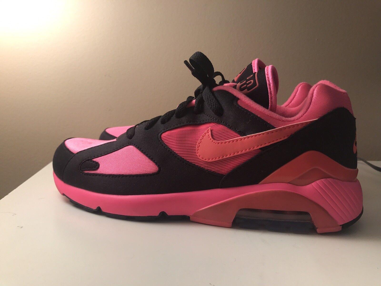 Nike Air Max 180 Comme Des Garcons Black Pink CDG DSM