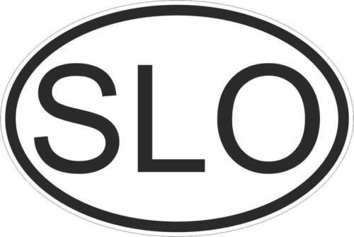 Autocollant sticker drapeau oval code pays voiture moto slovenie slovene slo