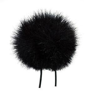Aimable Bubblebee Industries Miniature Windbubble For Lavalier Microphone Bbi-l03 - Blk-afficher Le Titre D'origine Chaud Et Coupe-Vent