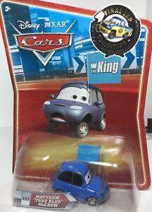 "Disney PIXAR CARS FINAL LAP MATTHEW /""TRUE BLUE/"" McCREW"