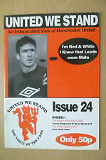 UNITED WE STAND- AN INDEPENDENT VIEW OF MANCHESTER UNITED. Issue 24