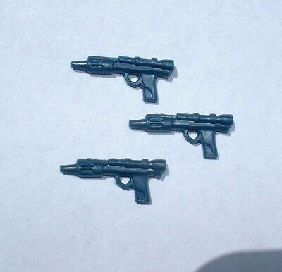 3 LOT Custom Bespin//Hoth 1980 ESB Weapons Lando,Rebel,Han,Lobot Vintage Star War