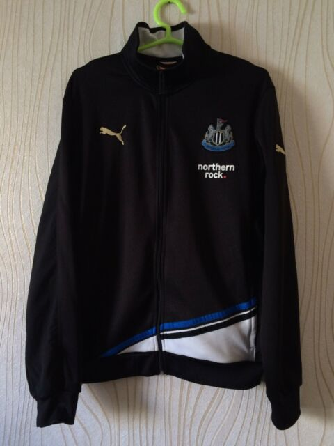 2f4ca9135 NEWCASTLE UNITED PUMA FOOTBALL SOCCER TRACK TOP SHIRT JACKET