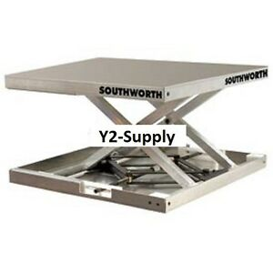 New Southworth Lift Tool Aluminum Scissor Lift Table 300