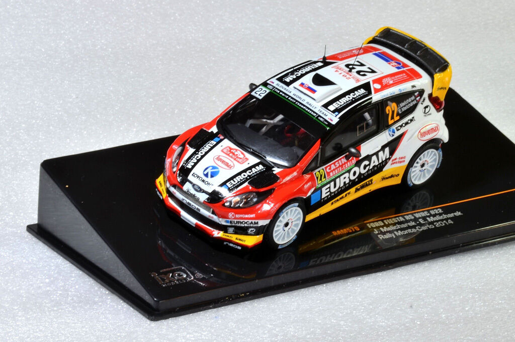 IXO Ford Fiesta RS WRC WRC WRC  22 J. Melicharek  Rally Monte Carlo 2014  RAM570 1 43 1559ad