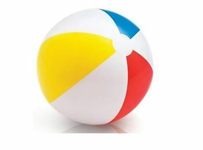 Inflatable PANEL Beach Ball Holiday Swimming Pool Play Summer Party Water 51cm
