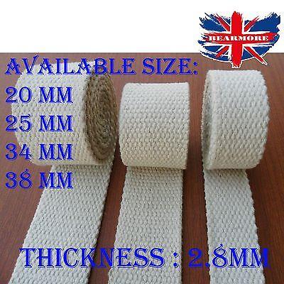 20mm 25mm 34mm 38mm Natural Beige /& Black Heavy Cotton Canvas webbing tape strap