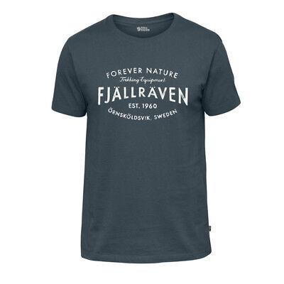 Focoso Fjallraven Est 1960 T-shirt Dusk (f81946-042)-mostra Il Titolo Originale 2019 Nuovo Stile Di Moda Online