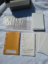 Pocket Undated Refill Lot Day Timer Planner Dividers And Extra Pages