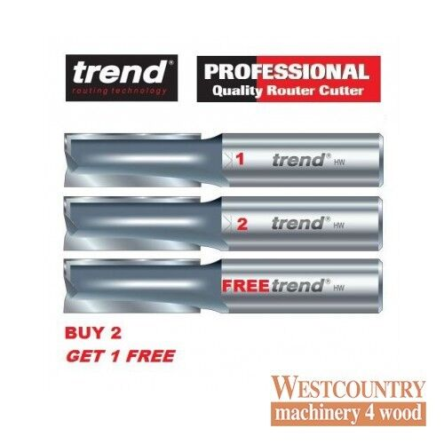 Trend 3 83D Kitchen Worktop Router Cutter - BUY 2 GET 1 FREE - Two Flute 12.7mm