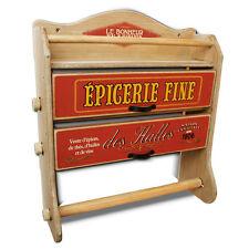 Küche Spender rolle Dose Folie Halter Shabby Vintage French Holz ...