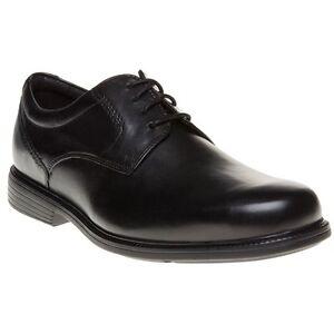 Charlesroad Rockport New lacets cuir en Chaussures Plaintoe Black Mens à Pqq5wrt