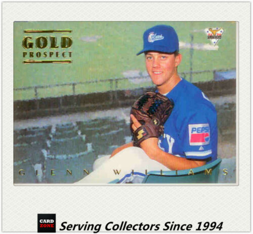 1994 Futera Australia Baseball Regular Gold Prospect Card 115 Glenn Williams