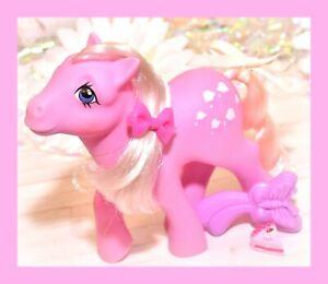 My-Little-Pony-MLP-G1-Vtg-Lickety-Split-Original-BRUSH-Pink-Ice-Cream-Earth