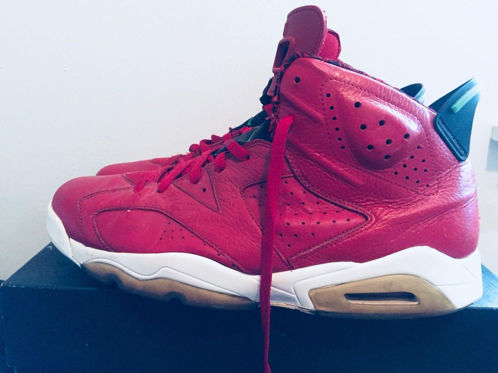 2018 Mens Nike Air Jordan VI 6 Spizike History of Jordan Red Comfortable New shoes for men and women, limited time discount