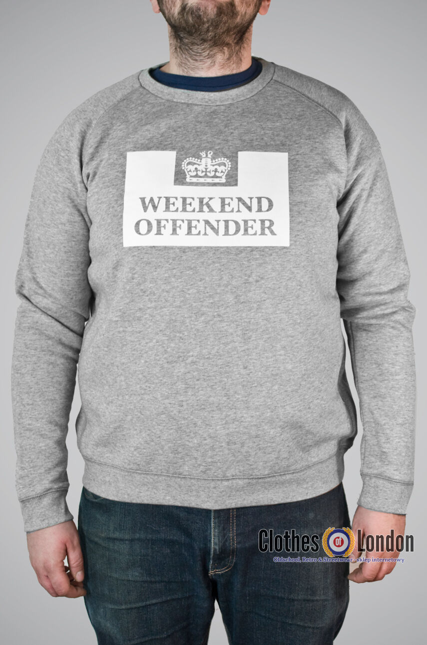 Sweatshirt Weekend Offender Penitentiary Grau, WOSW0006
