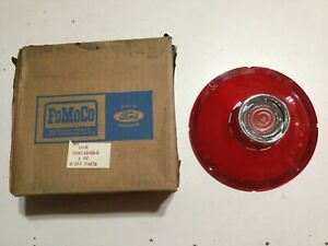 1963-FORD-PASSENGER-TAIL-LIGHT-LAMP-LENS-WITH-BACK-UP-LIGHT-NOS-C3AZ-13450-C