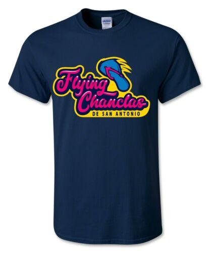 Flying Chanclas De San Antonio Missions Tshirt