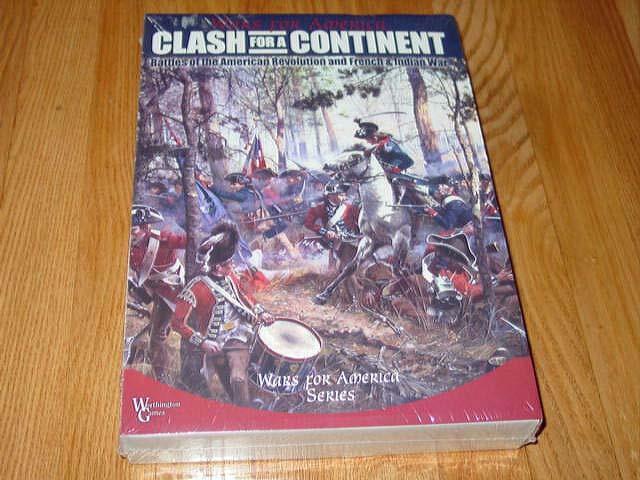 Worthington giocos - Clash  for a Continent - War for America Series -SEALED   nuovo  promozioni eccitanti