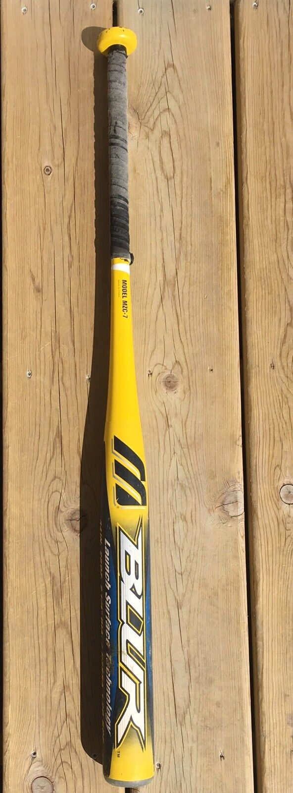 Mizuno Softball Bat bluer Techfire MZC-7 34 28