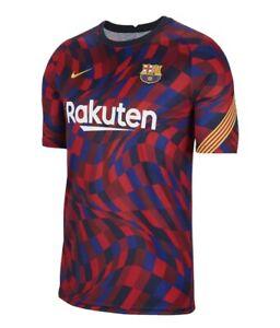 Nike FC Barcelona Barca Soccer Football Jersey Top SS CD5812-658 Mens size XL