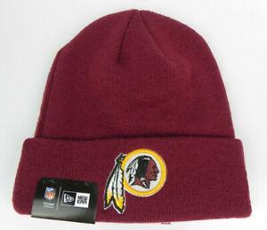 WASHINGTON-REDSKINS-NFL-FOOTBALL-NEW-ERA-KNIT-BEANIE-WINTER-SKI-CAP-HAT-NWT