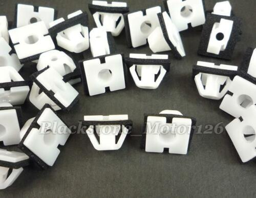 25pc Auto Body Side Moulding Clip Retainer W//Sealer Fits For Hyundai 87756-3D000