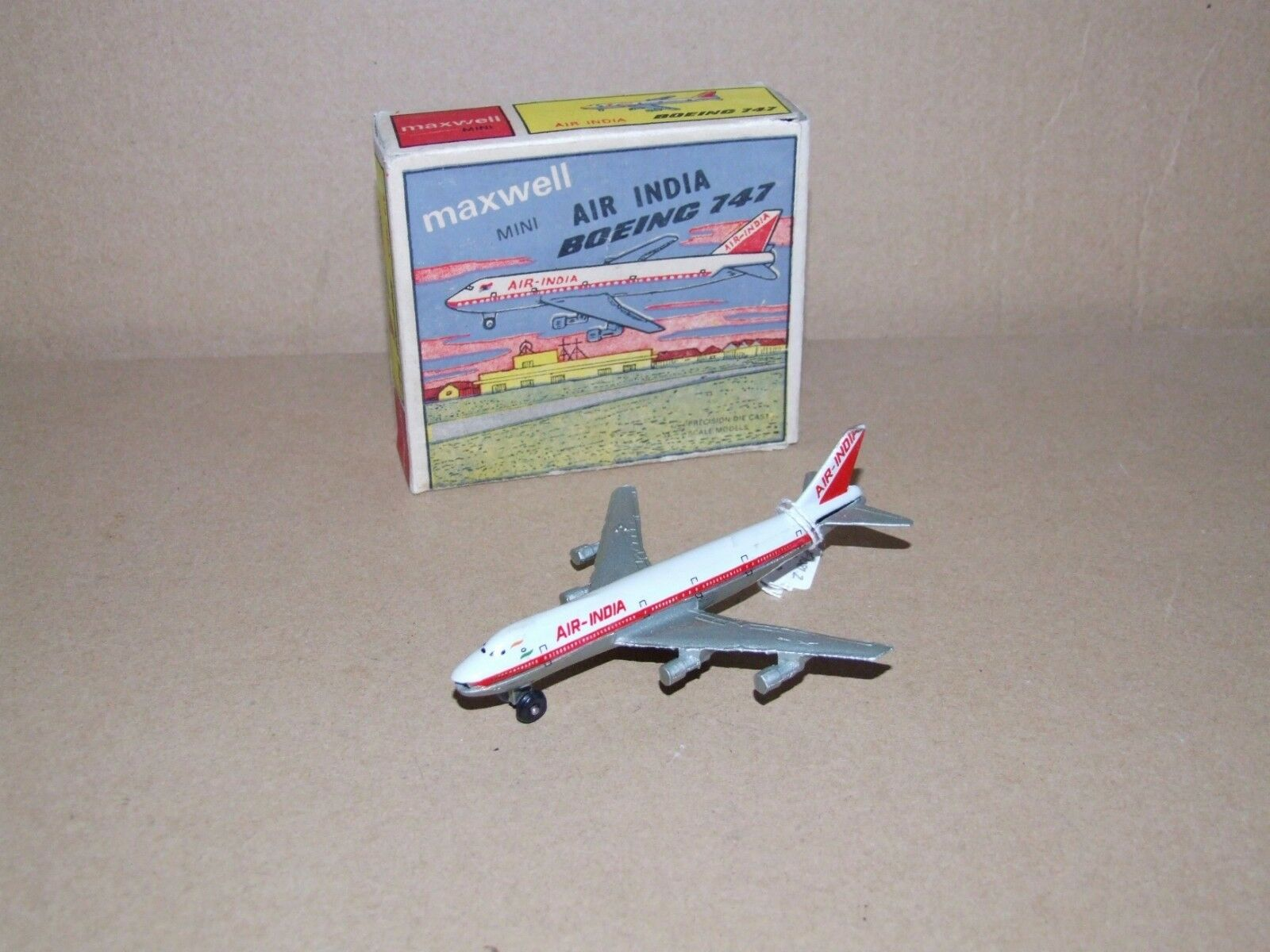 Maxwell (India) AIR INDIA Boeing 747