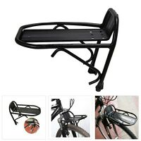 Cycling Bike Aluminum Alloy Front Rack Bracket Bicycle Carrier Pannier Racks F7