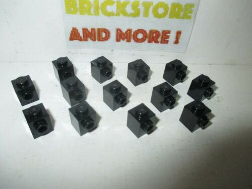 Choose Quantity x2 Brick Brique 1x1 Stud on Side 87087 Black//Noir Lego x20